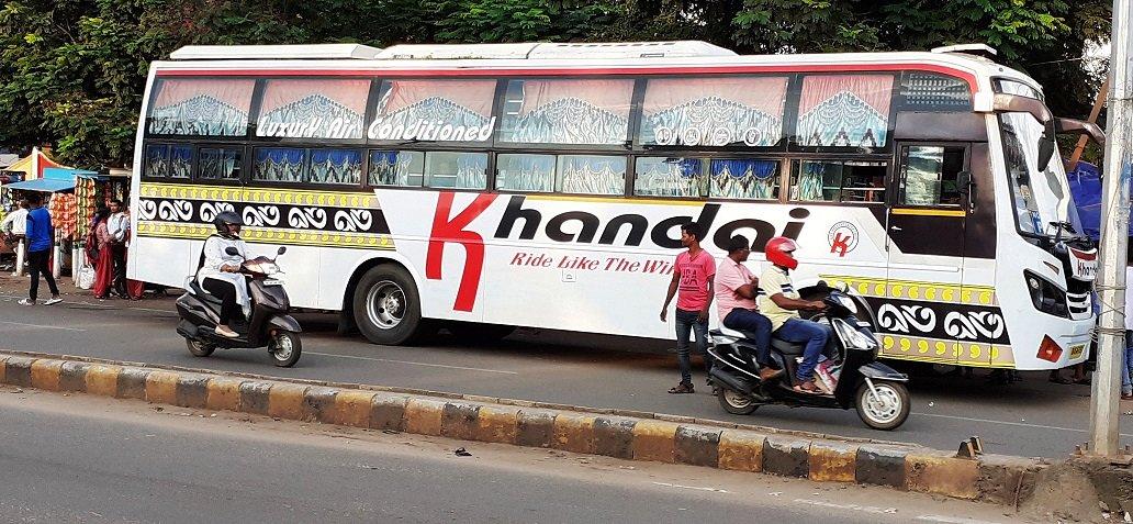 Private Bus for Puri